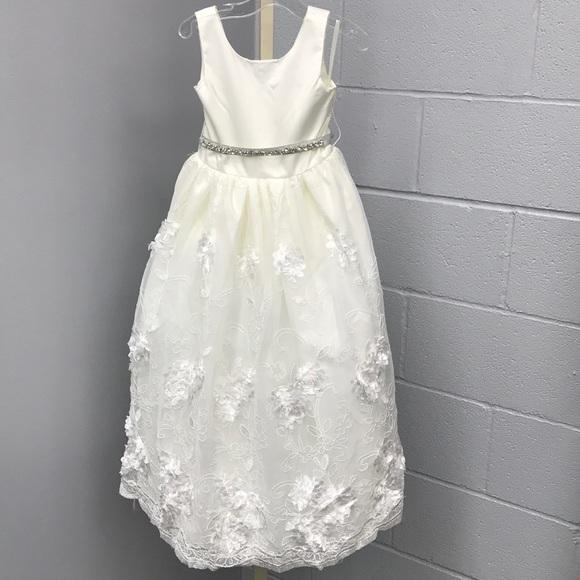2dffaa0ee88 Rosebud Flower girl dress style  5128